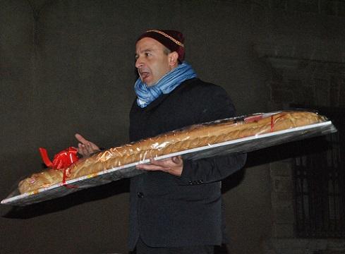 Asta del pane di San Sebastiano a Siracusa