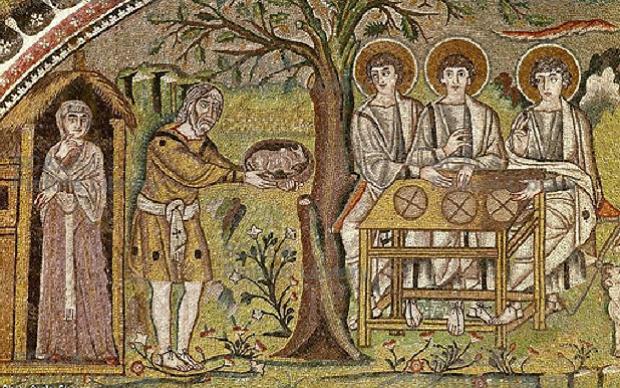 L'ospitalità di Abramo ai tre angeli (Small)