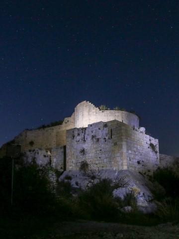 Noto Ant Castello e torre maestra di notte (Small)
