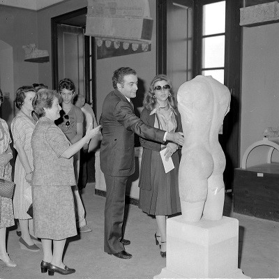 Piersanti Mattarella e Paola Pelagatti visita Museo foto © Regione Siciliana Soprintendenza SR (Small)